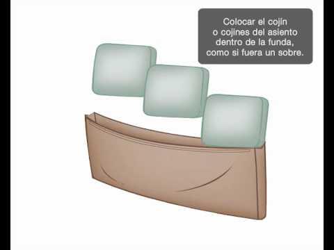 Instrucciones Slipcover
