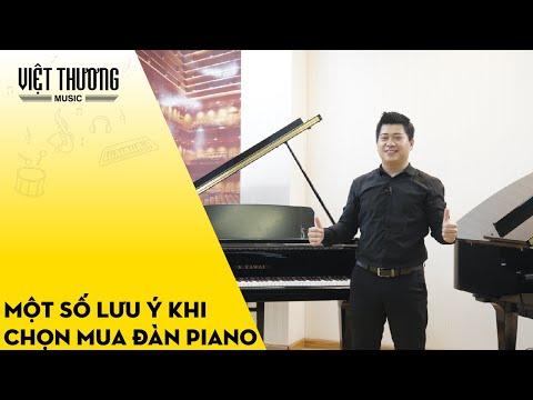 Một số lưu ý khi chọn mua đàn piano