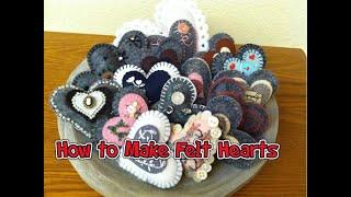 CTF221: How To Make Felt Hearts