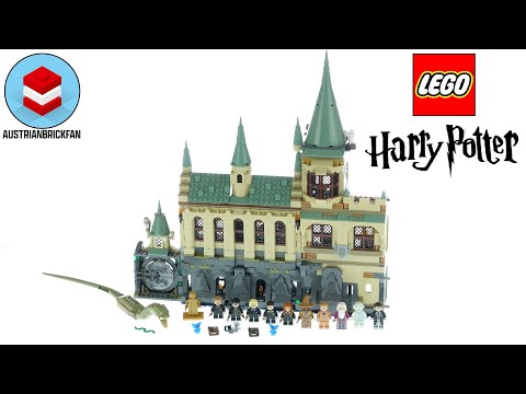 Vidéo LEGO Harry Potter 76389 : La Chambre des Secrets de Poudlard