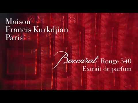 Maison Francis Kurkdjian - Baccarat Rouge 540 Extrait de parfum - French with English subtitles