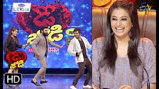 Sudeer&Rashmi | Funny Task | Dhee Jodi | 12th December 2018 | ETV Telugu