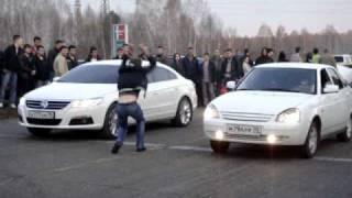 Лада Приора vs Passat CC