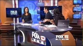 WHO Wireless Cancer Hazard on Fox5, Sept  18, 2013