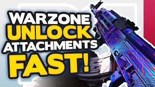 Warzone 12 Tips to Rank Up FAST + Unlock ALL Weapon Attachments! (PS4, Xbox + PC)