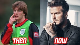 David Beckham Transformation Then And Now (Tattoos & Body & Hair Style & Haircut & Teeth) | 2017 NEW