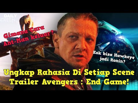 Teori & Penjelasan Scene Di Trailer Avengers End Game - Breakdown Trailer