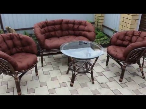 Комплект мебели из натурального ротанга Bagama Promo