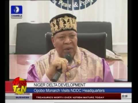 Opobo Monarch Commends NDDC Over Developmental Projects