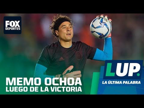 LUP: Guillermo Ocho está contento con el desempeño