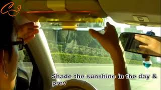 Auto Car Sun Visor Anti-Glare Shield UV Block HD Driving Vision