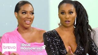 """Kenya Moore Claims Cynthia Bailey Has """"Cookie Dough"""" on Her Hands    RHOA After Show (S12 Ep14)"""