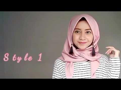 Video Tutorial Shawl   Hijab Tutorial   Part 4