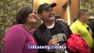 CANDID MOMENT WITH RYAN GARCIA'S MOM & DAD BOTH SHARE FINAL THOUGHTS ON PERFORMANCE; TALK JOURNEY