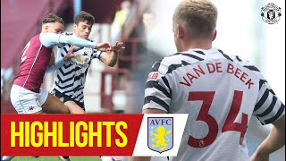 Highlights | Aston Villa v Manchester United | Pre-Season 2020/21