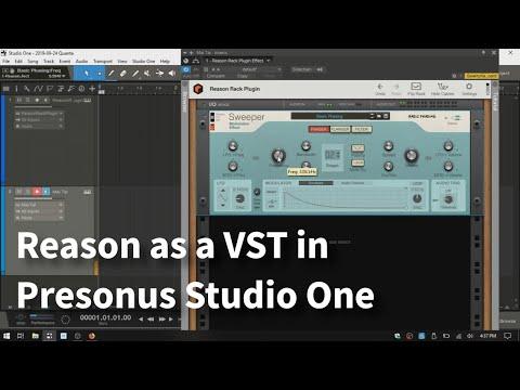 Using Reason 11 VST Rack in Studio One 4.5