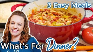 WHAT'S FOR DINNER? | EASY DINNER IDEAS | SIMPLE MEALS | NO. 48