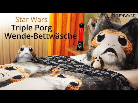 Star Wars: Knuffige Porg-Bettwäsche