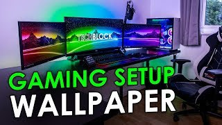 Create An AWESOME Desktop Wallpaper For Your Gaming Setup