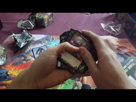 Warcraft TCG Tomb of the Forgotten Epic Collection Box opening! Dem (crappy) Loot cards!