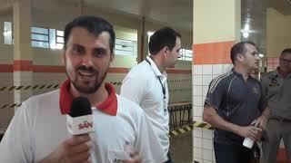 Colégio Castro Alves de Capitão, passou por vistorias de engenheiros do Núcleo Regional de Educação