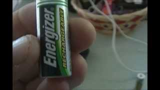 How To - Extend Battery Life (Upgrade Batteries) of your cheap Solar landscaping LED light