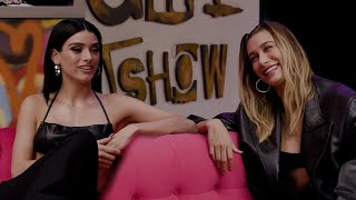 Hailey Bieber On The Early Late Night Show | Dixie D'Amelio