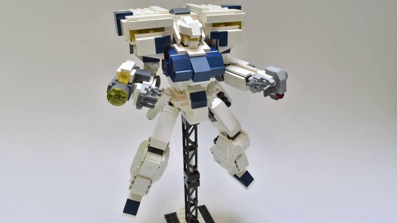 Lego Gundam MOC Showcase - Lego Gundam MOC Showcase - RGM-89DEW EWAC Jegan