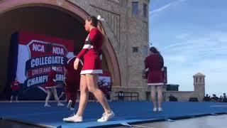Harvard Cheerleading Places 7th at NCA College Nationals