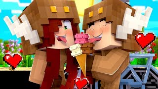 Minecraft Daycare - BABY GIRLFRIEND VALENTINE KISS! W/ MooseCraft (Minecraft Kids Roleplay)