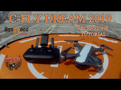 C-FLY DREAM RECENSIONE TUTORIAL