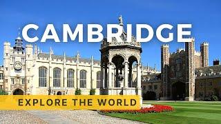 🇬🇧 Walking In CAMBRIDGE 4K, UK