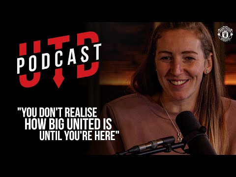 """UTD Podcast: Siobhan Chamberlain – """"You don't realise how big United is until you're here"""" 