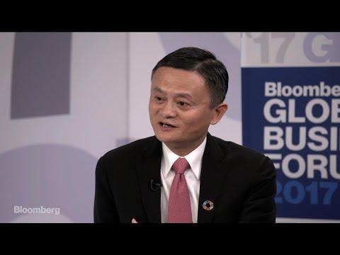 Alibaba's Jack Ma on Trump, China Business, Amazon