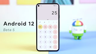 Android 12 Beta 5 - Material You Everywhere!