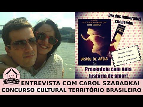 Entrevista com a autora de Grãos de Areia + concurso cultural em território brasileiro