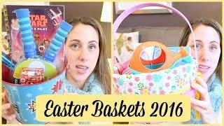 Kids Easter Baskets 2016