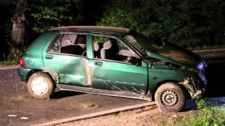 Czarnorzeki: Renault wypadło z drogi