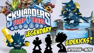 Skylanders Trap Team: Sidekicks, Legendary Starter Pack, Lightcores, Krankcase + Interview