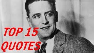 F. Scott Fitzgerald Quotes - Top 15