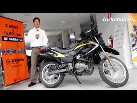 Keeway TX 200 en Perú l Vídeo Full HD l Presentado por Todomotos.pe