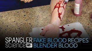 Fake Blood Recipes Blender Blood - Cool Science Experiment