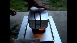 実験! ラージメスティンで2合を半自動炊飯したい