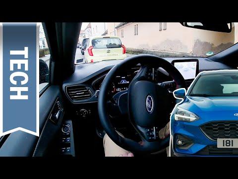Aktiver Park-Assistent Plus im Ford Focus kurz getestet - automatisches Einparken