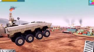 MONSTER TRUCKS RACING #3 LAV / Oil Rig  iOS / Android Gameplay Trailer