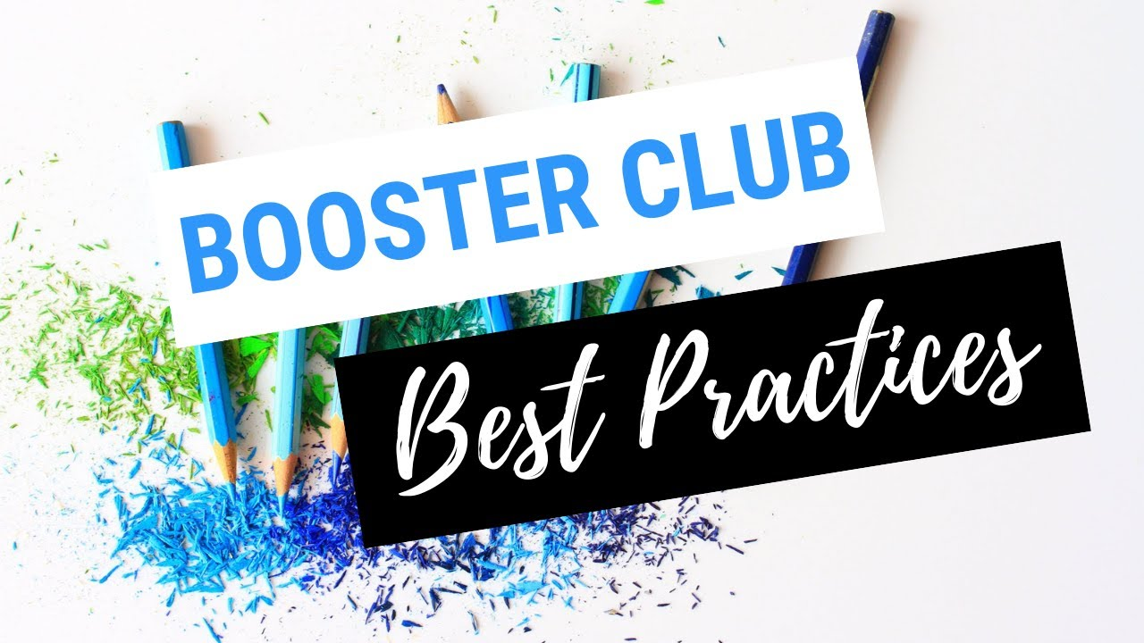 GIVE.ORG - List of best practices for booster clubs