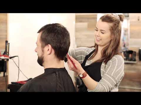 Hairdressing training at CMTN. - YouTube