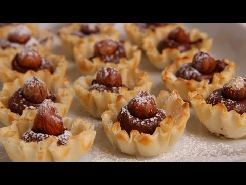 Nutella Tartlets – Laura Vitale – Laura in the Kitchen Episode 321