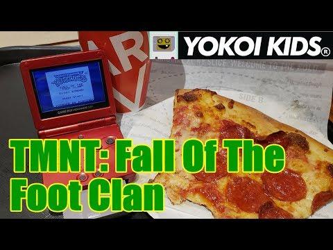 Teenage Mutant Ninja Turtles: Fall Of The Foot Clan   Yokoi Kids Review At Sbarro!