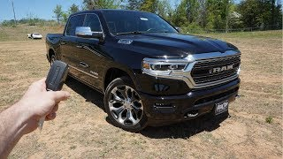 2019 Ram 1500 Limited: Start Up, Walkaround, Test Drive And Review